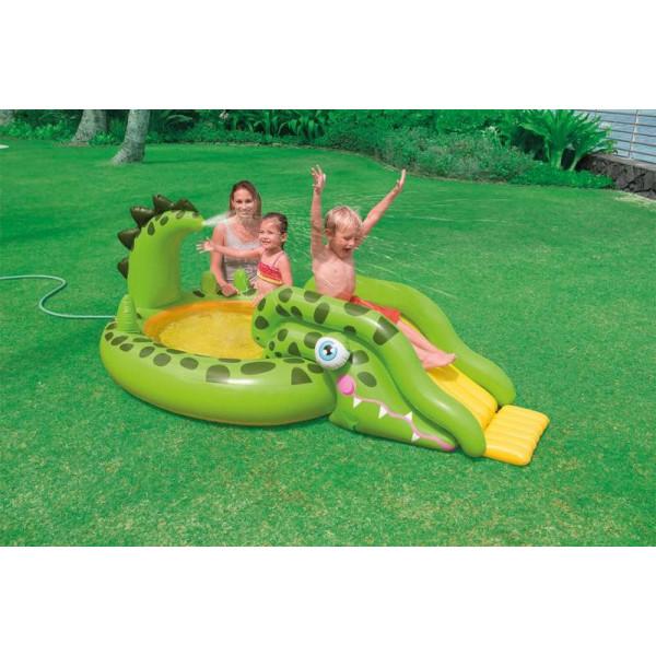 Aire de jeu gonflable piscine intex croco for Aire de jeu gonflable piscine
