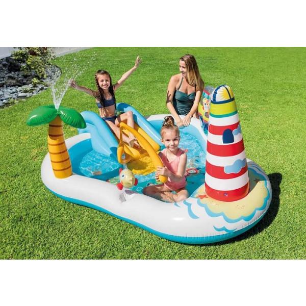 Aire de jeux gonflable Intex Sea Paradise