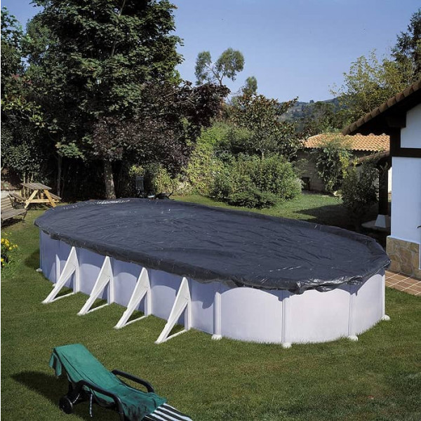 Bâche de protection pour piscines GRE 120g /m²