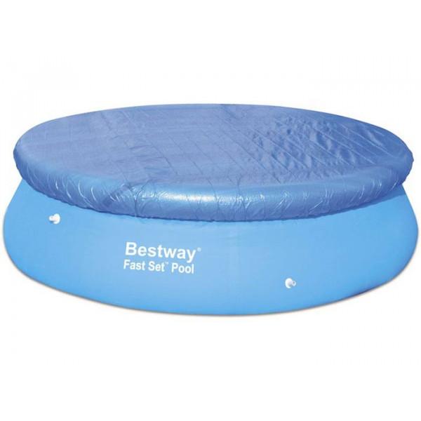 Bâche de protection pour piscine Bestway Fast Set Pool ronde ⌀305