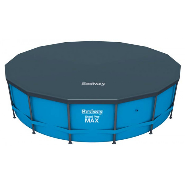 Bâche de protection pour Piscine Bestway Hydrium Splasher /Power /Frame Pool ronde ⌀457