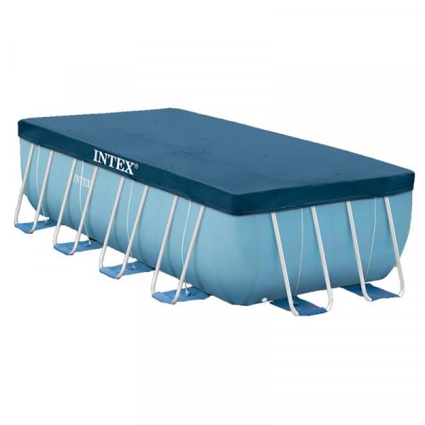 Bâche pour piscine rectangulaire 4 x 2 m Intex