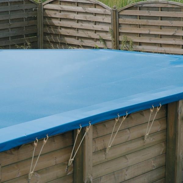 Bâche de protection pour piscine Ubbink-500x800cm
