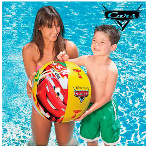 Ballon de plage Intex Cars