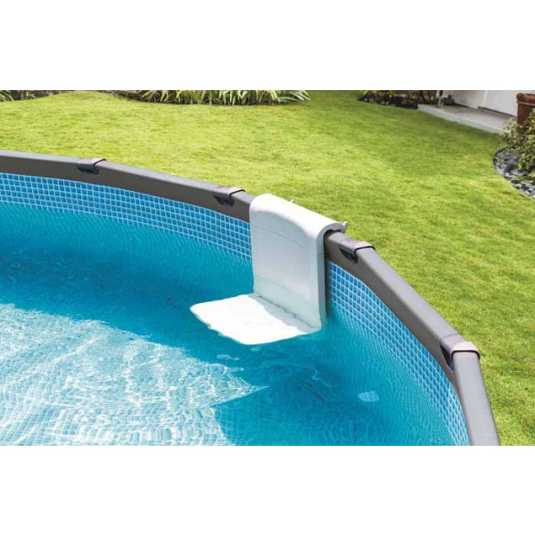 Banc d'assise pour piscine tubulaire Intex