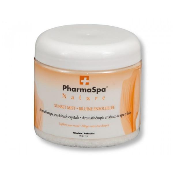 "Cristaux pour spa ""Bruine Ensoleillée"" Ginseng, Mandarine et Orange 385 g PharmaSpa"