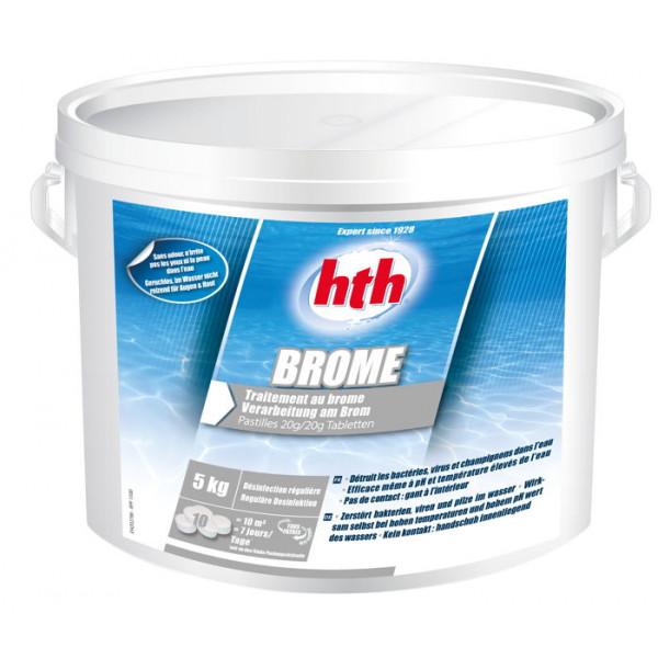HTH Brome 5kg - Traitement au brome pastille 20g