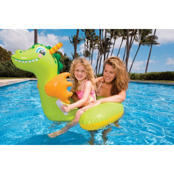 Dragon gonflable intex pour piscine baby dragon achat for Achat piscine gonflable