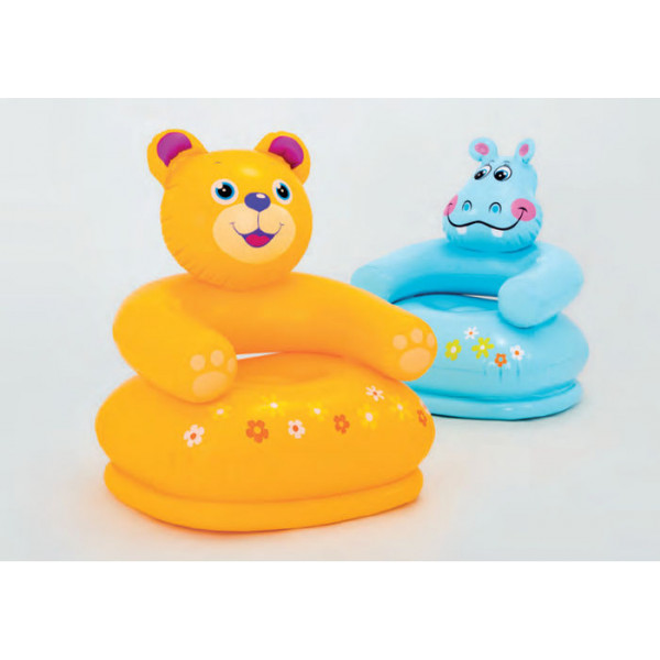 Fauteuil gonflable enfant Intex Happy Animal