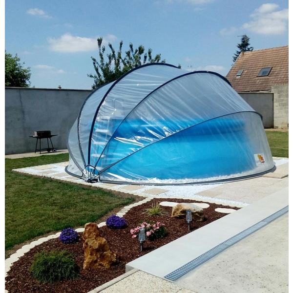 Abri de piscine hors-sol SunnyTent rond