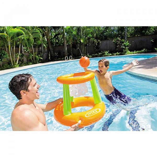 Jeu de basket flottant pour piscine INTEX