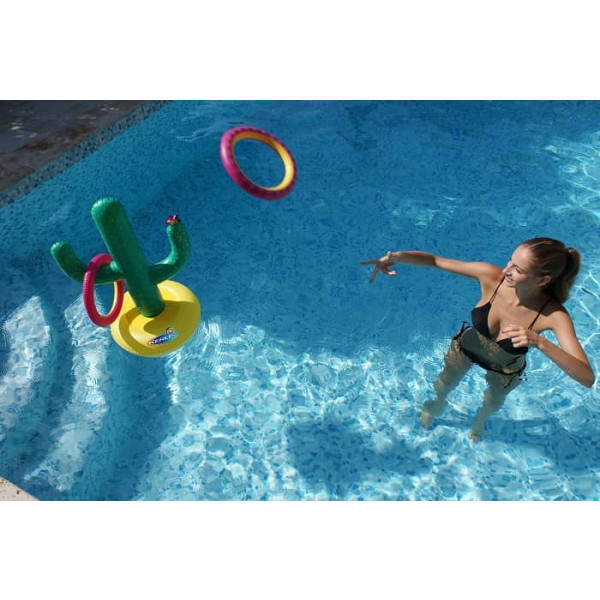 Jeu de lancer Cactus pour piscine Kerlis
