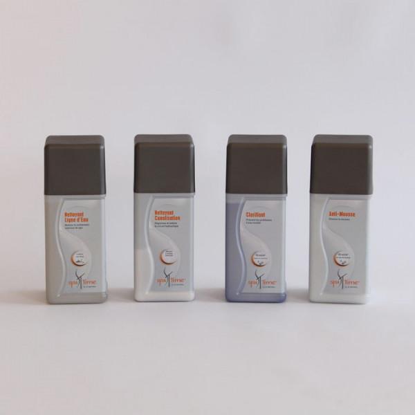 Kit complet de produits de nettoyage pour spa