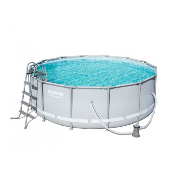 Piscine tubulaire ronde Bestway Power Steel 4,27 x 1,22