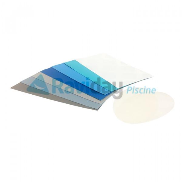 Kit de réparation sans colle pour liner de piscine Intex 6 couleurs