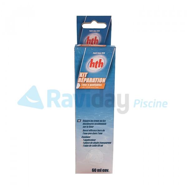 Kit de réparation pour liner de piscine et spa gonflable HTH