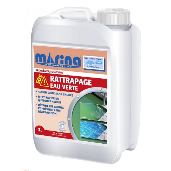 SOS Rattrapage eau verte - Pour piscines 10 à 20 m³
