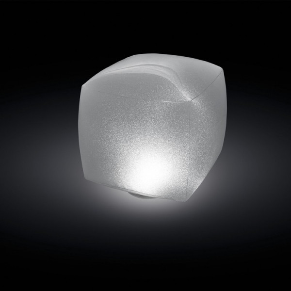 Cube flottant lumineux à LED Intex