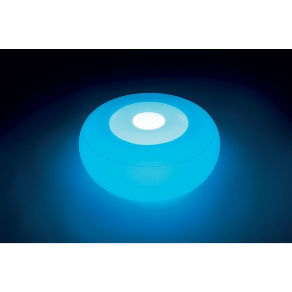 Mobilier gonflable lumineux Intex Ottoman