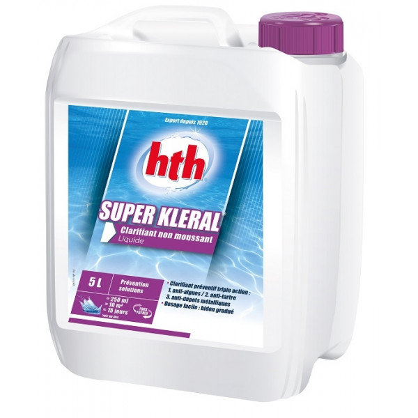 Liquide anti-algues Super Kleral HTH 5L