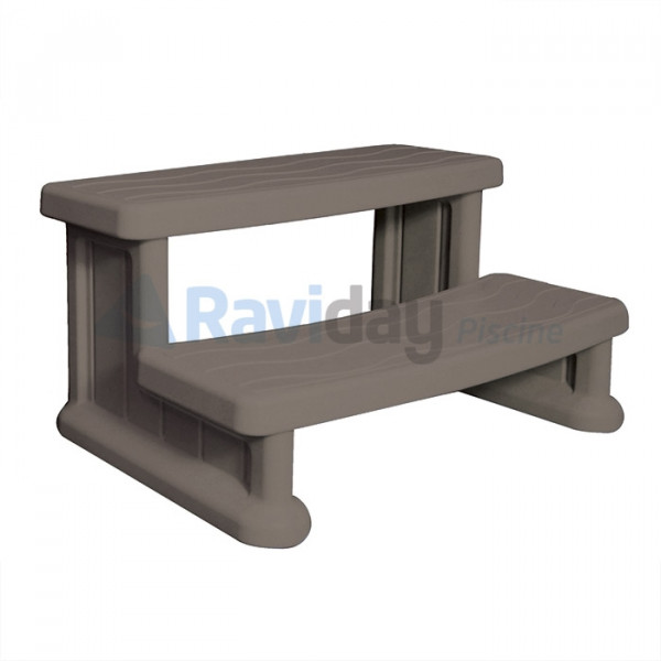 Marche-pied pour spa gonflable Couleur Taupe