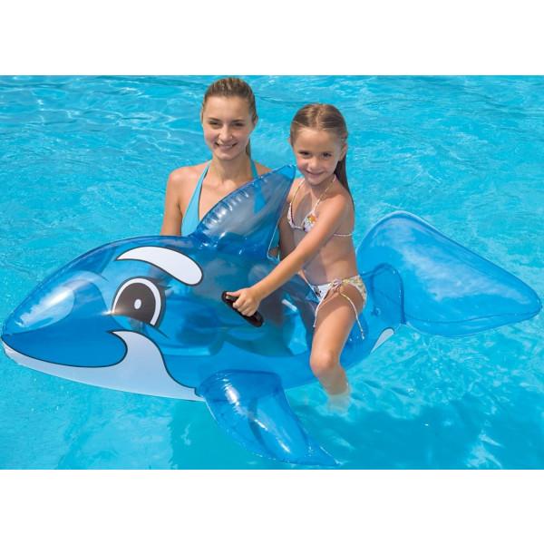 Baleine gonflable pour piscine INTEX