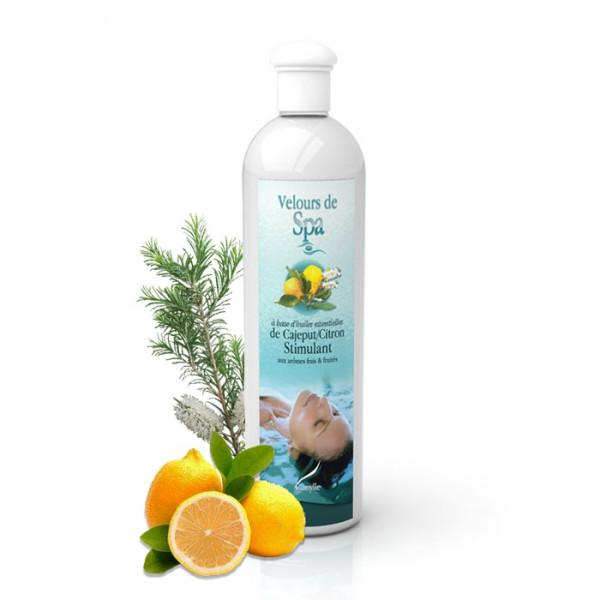 Parfum de Spa à base d'huiles essentielles de Cajeput et de Citron Camylle 500 ml
