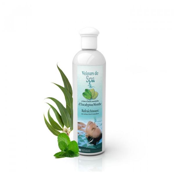 Parfum de Spa à base d'huiles essentielles d'Eucalyptus et Menthe 250 ml