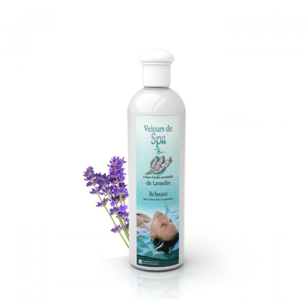 Parfum de Spa à base d'huiles essentielles au Lavandin Camylle 250 ml