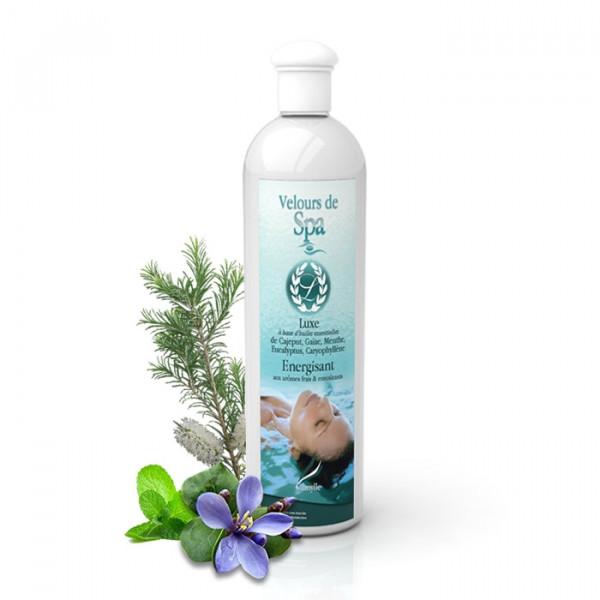 """Parfum de Spa à base d'huiles essentielles """"Luxe"""" Camylle 500 ml"""