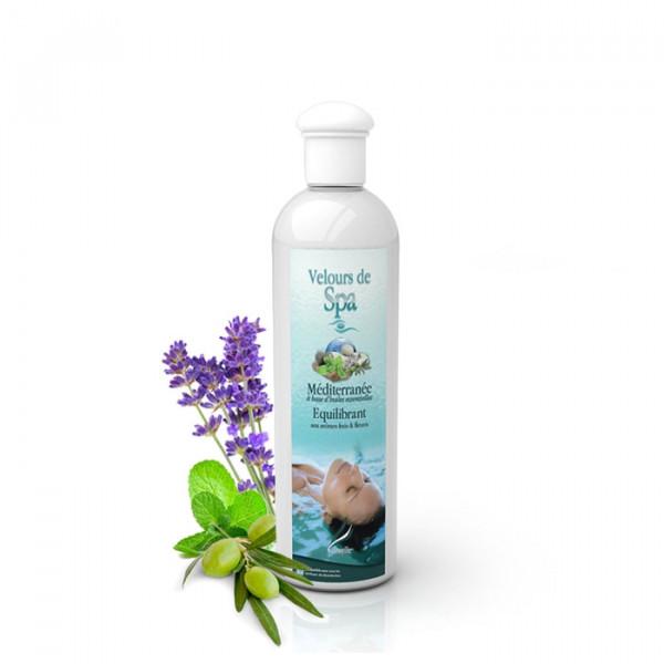 Parfum de Spa à base d'huiles essentielles Méditerranée 250 ml