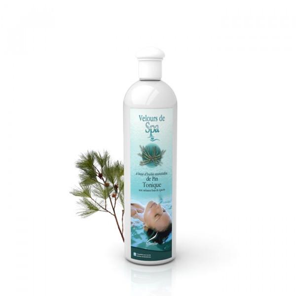 Parfum de Spa à base d'huiles essentielles de Pin Camylle 250 ml
