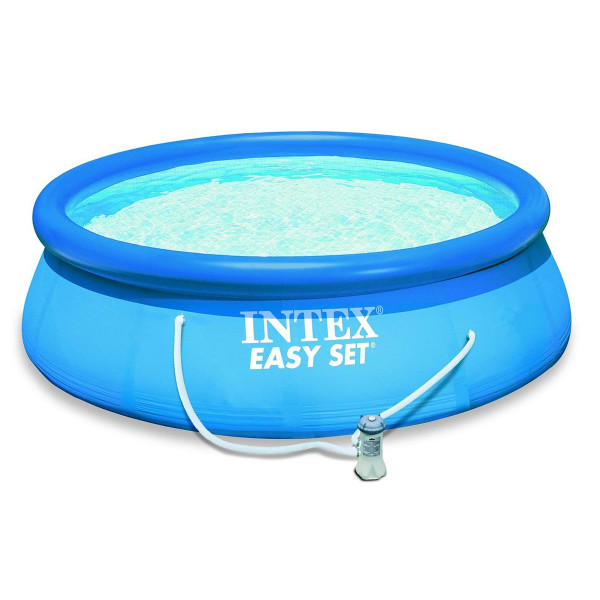 Piscine easy set x m epurateur intex for Piscine autoportante easy set