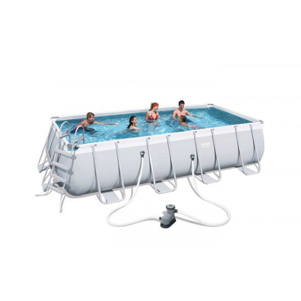 Piscine tubulaire rectangulaire Bestway Power Steel 5,49 x 2,74 x 1,22