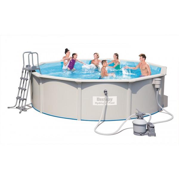 Piscine tubulaire bestway hydrium 4 60 x 1 20 m for Filtre pour piscine bestway