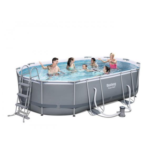 Piscine tubulaire Bestway Power Steel Frame 4,88 x 3,05 x 1,07 m