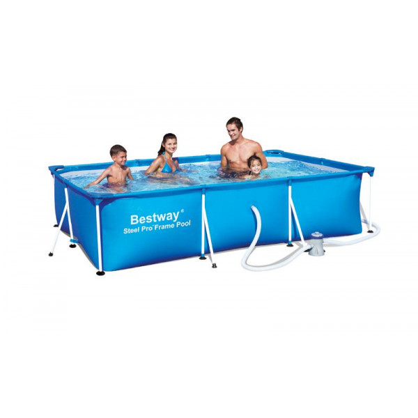 Piscine tubulaire bestway splash deluxe 3 x x for Piscine rectangulaire bestway