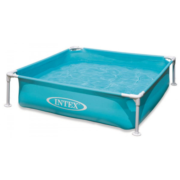 Piscinette Intex Metal Frame Junior Bleu