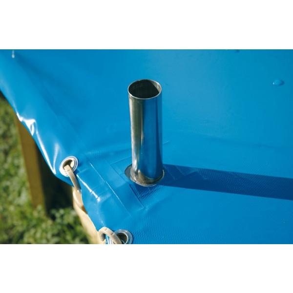 Bâche de protection pour piscine Ubbink-400x610cm