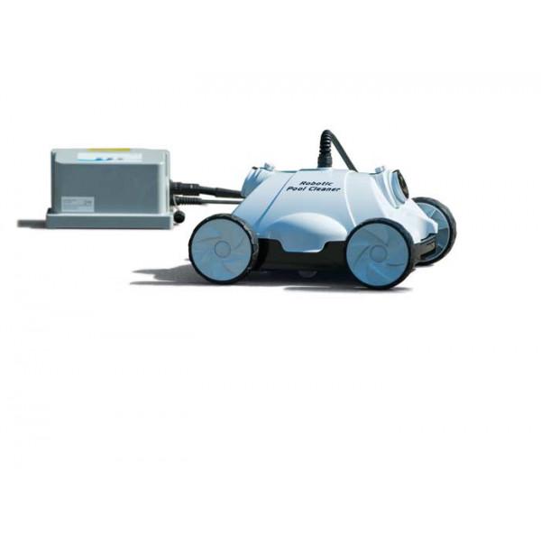 Robot nettoyeur fond de piscine Ubbink Robotclean 1 noir et blanc