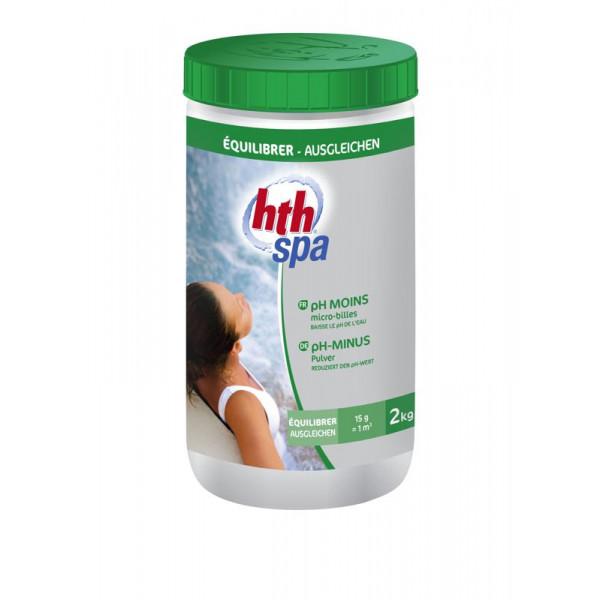 HTH Spa 2kg - pH Moins en micro-billes