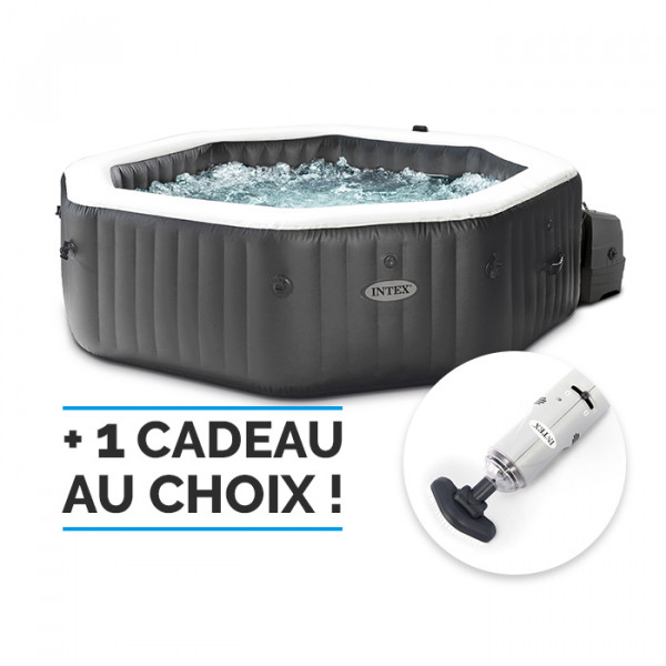 Spa gonflable Intex PureSpa Carbone 4 places