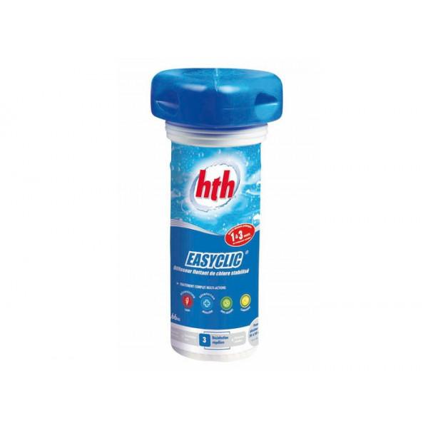 Traitement complet au chlore multifonction HTH Easyclic