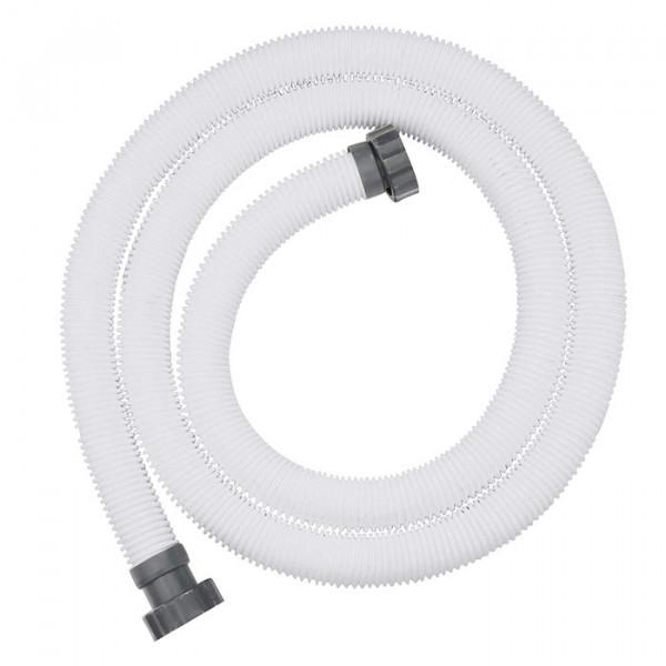 Tuyau pour filtre à sable Bestway Ø 38 mm / longueur 3 m avec connecteurs filetés -