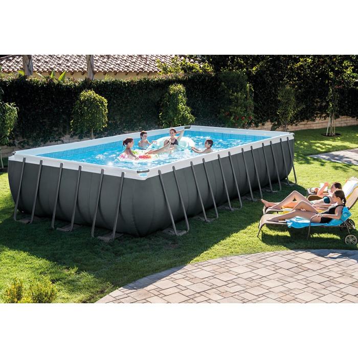 piscine tubulaire intex ultra xtr x x m. Black Bedroom Furniture Sets. Home Design Ideas