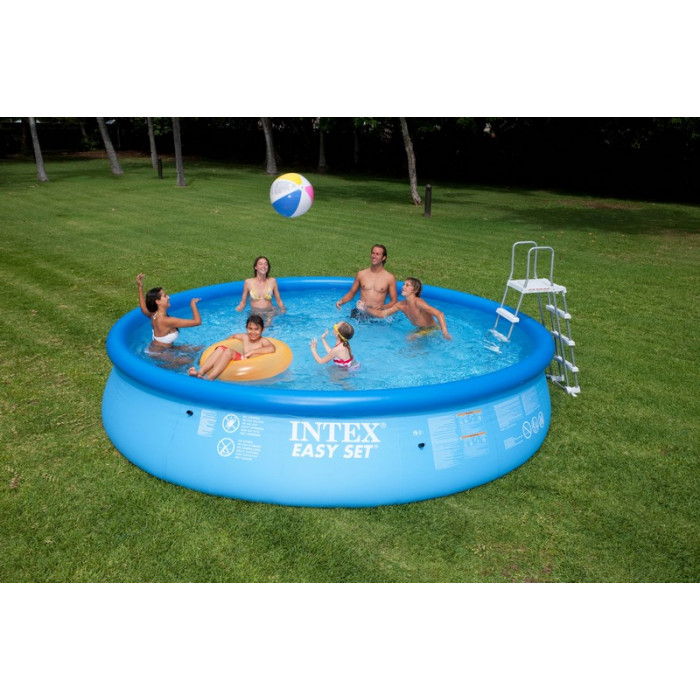 Kit piscine autoportante intex easy set x m - Pompe pour piscine intex easy set ...