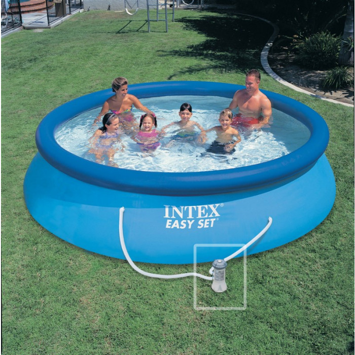 Piscine easy set x m epurateur intex for Piscine intex 3 66 x 0 99