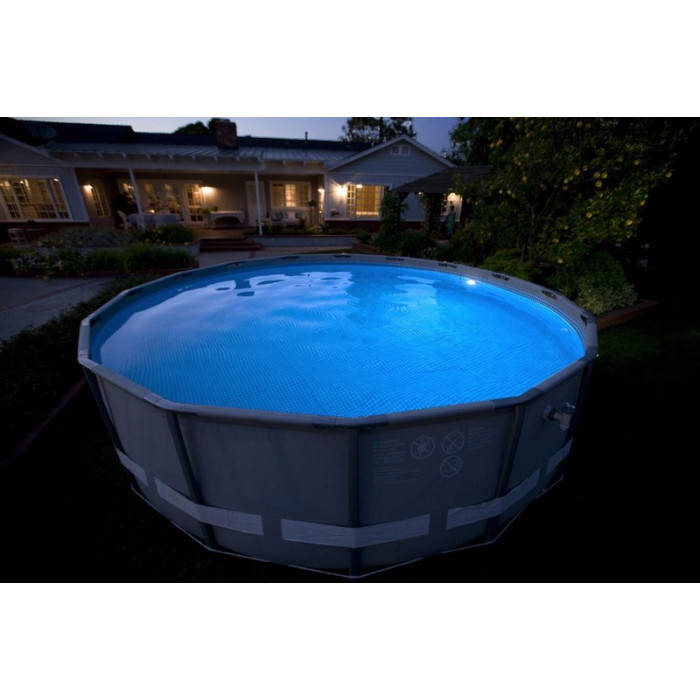 Piscine bois intex for Lampe piscine bois