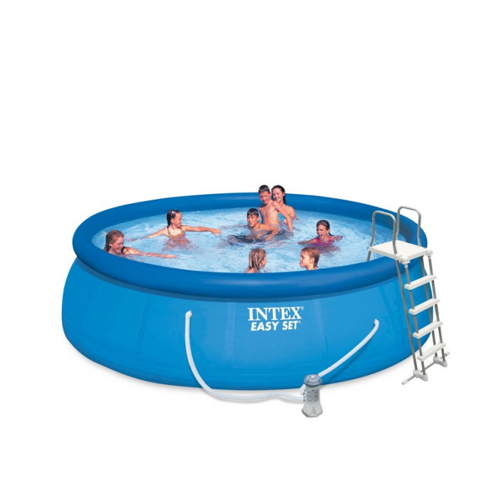 Kit piscine autoport e intex easy set x m for Easy piscine