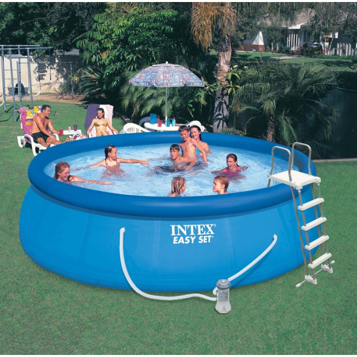 Piscine autoport e intex 5 m for Piscine intex 5 m